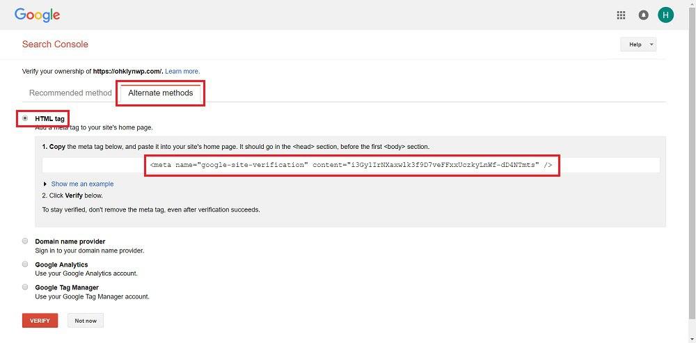 Шаг 3 - Как использовать Google Search Console для индексации сайта - 2