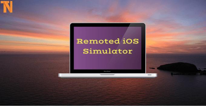 Remoted iOS Simulator