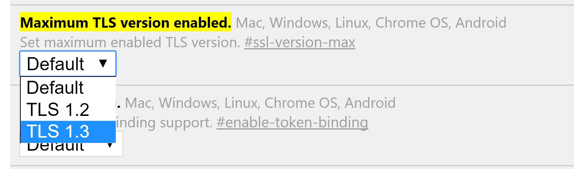 Проверка старой версии TLS - 2