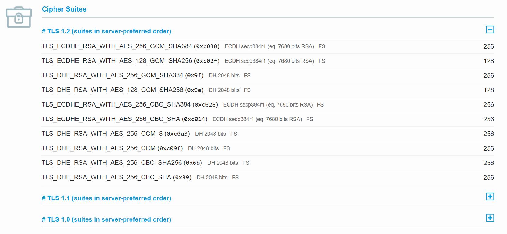 Проверка RC4 Cipher Suite