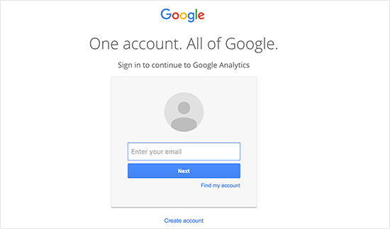Как зарегистрироваться в Google Analytics