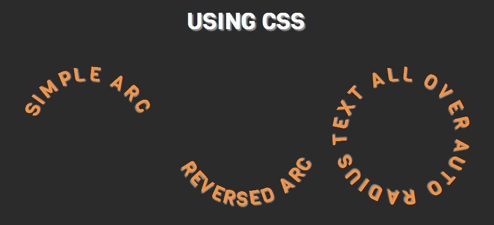 Как сделать текст по кругу с помощью CSS3 (сложный способ) - 2