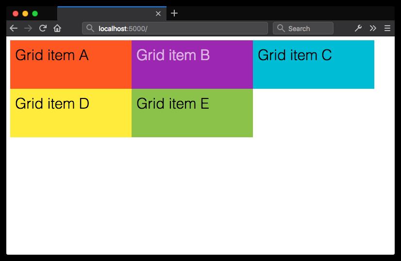 Определение grid-макета