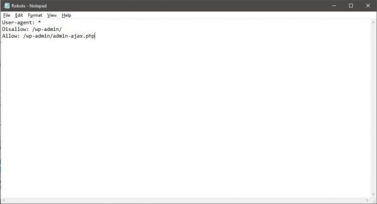 Как создать файл Robots.txt?