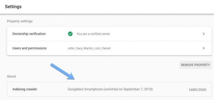 Новые опции в Google Search Console
