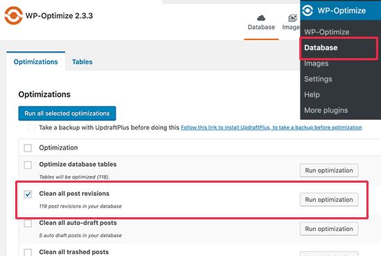 Как удалить старые ревизии записей в WordPress