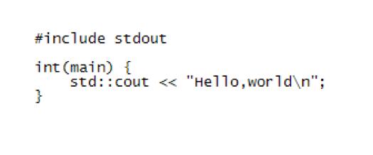 Простой синтаксис