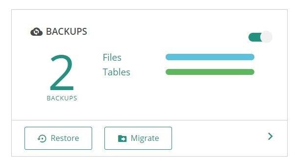 Как восстановить WordPress из резервной копии с помощью BlogVault - 2