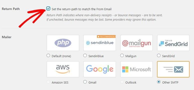 Шаг 2: Настройка плагина WP Mail SMTP - 2