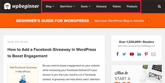 Зачем использовать выпадающие меню в WordPress? - 2