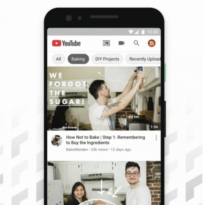 О рекомендуемых темах на главной странице YouTube