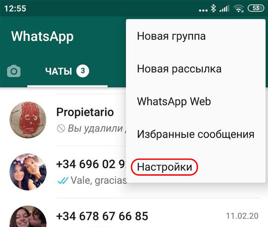 Как включить режим инкогнито для WhatsApp - 2