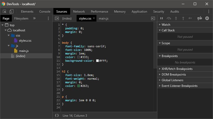 Шаг 1: Откройте инструменты разработчика