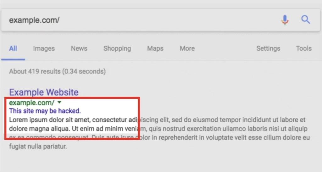 Зачем нужен отчет «Проблемы безопасности» от Google Search Console