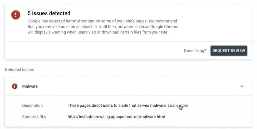 Как устранить проблемы c безопасностью сайта?
