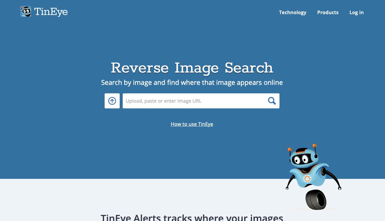 Как найти картинку в интернете с помощью TinEye