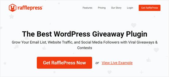 2. RafflePress