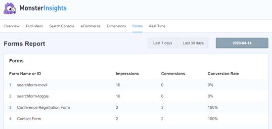 Отслеживание цели заполнение формы с помощью Google Analytics - 2