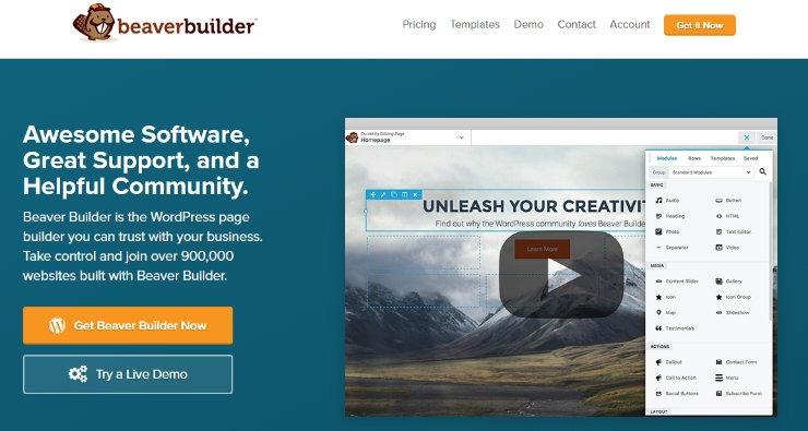 Шаг 1. Установка Beaver Builder на WordPress-сайт