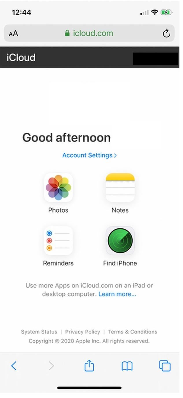 Доступ к фотографиям из iCloud на Android - 2