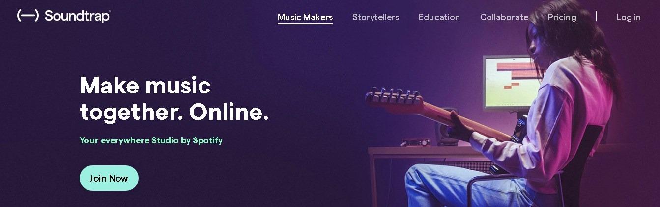 Soundtrap — онлайн-редактор музыки