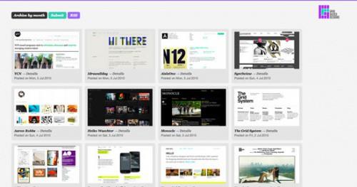 Grid-Based Design Gallery