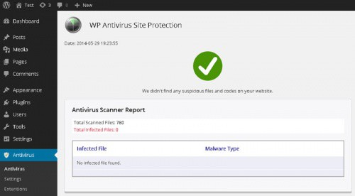 WP Antivirus Site Protection