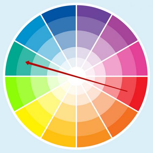 Сочетание цветовой гаммы - 2