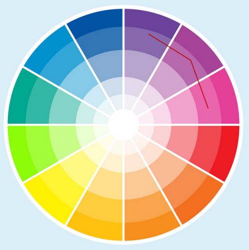 Сочетание цветовой гаммы