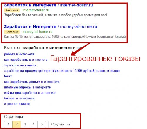 Реклама сайта на яндекс директ стоимость