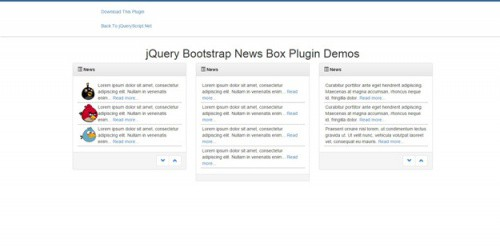 jQuery-Bootstrap-News-Box-Plugin