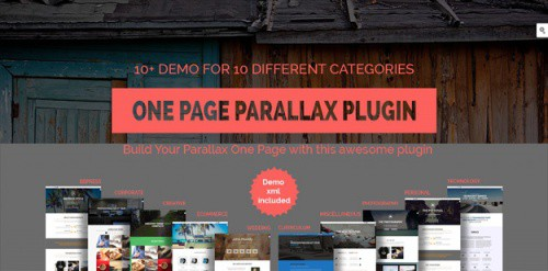 parallax-one-page-builder