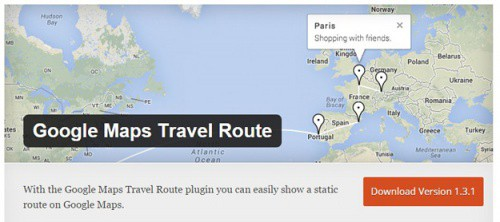 google-maps-travel-route