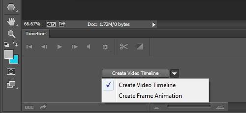 Шкала времени в фотошопе - обзор инструмента