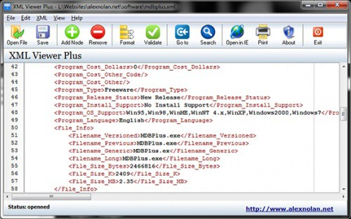 XML-editor-and-viewer