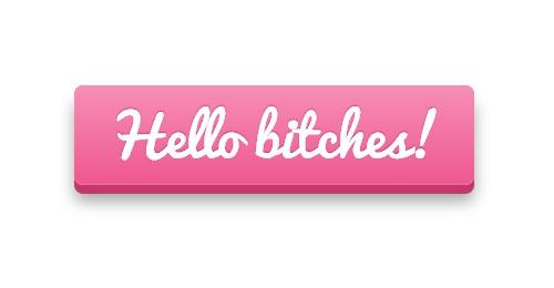 Розовая кнопка CSS3 со шрифтом Pacifico