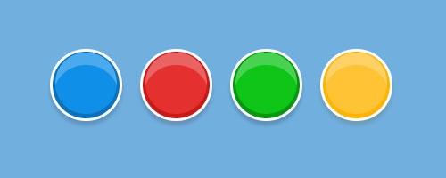 Глянцевые кнопки CSS3
