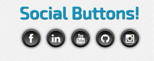 CSS3-кнопки социальных сетей