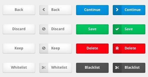 Набор кнопок