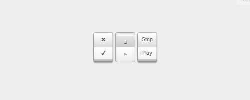 Кнопки-переключатели на CSS3