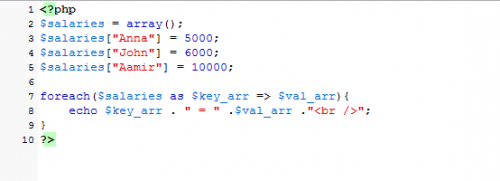 associative-array