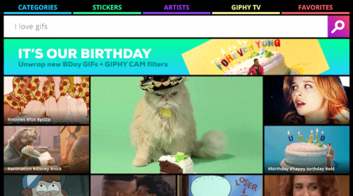 GIPHY-homepage