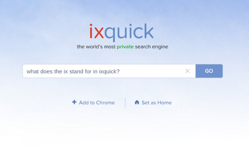 Ixquick-Search-Engine