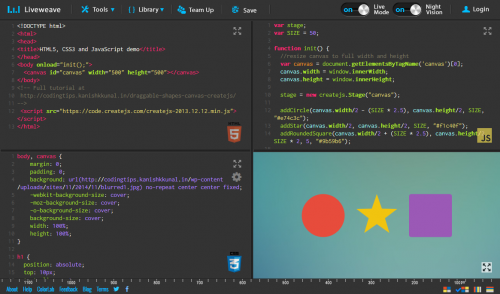 liveweave-html-css-js-editor