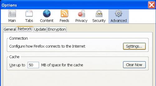 Как подключиться к прокси серверу в браузере Mozilla Firefox