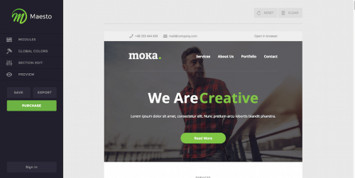 Maesto-Demo-Mail-Builder-Moka