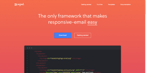MJML — The Responsive Email Framework