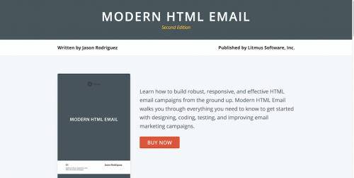 Modern HTML Email