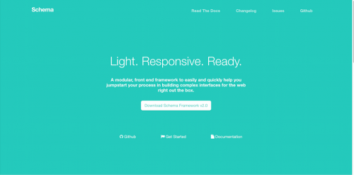 SCHEMA-UI-Frontend-Framework-A-powerfully-light-responsive-and-lean-fr