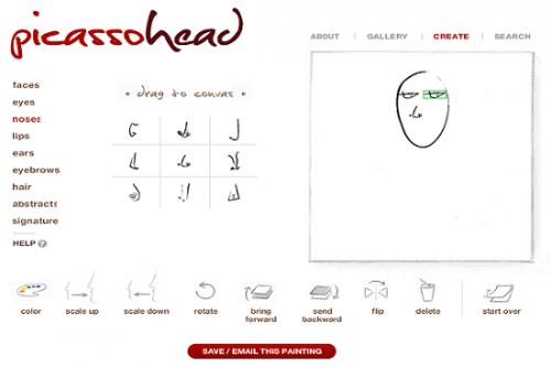 Как сделать мультяшную аватарку с помощью Picassohead